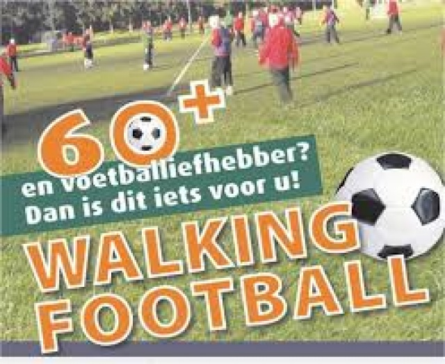 DAW Schaijk start met Walking Football