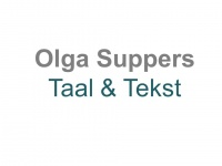 Olga Suppers Taal & Tekst