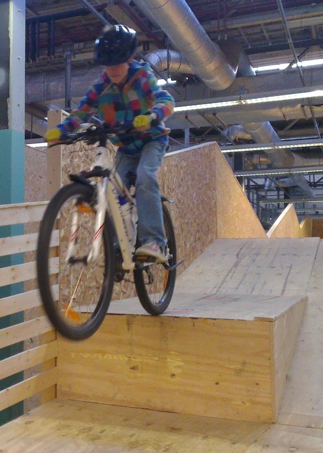Indoor bike park in Schaijk?